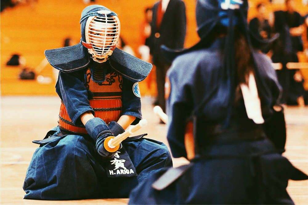 Kendo Japanese Warrior